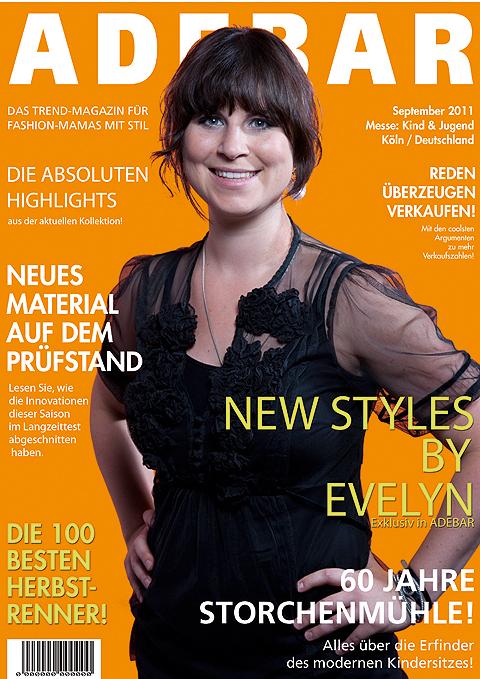 Evelyn von Recaro, fotografiert von Riegg & Partner