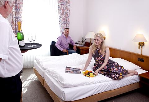 Zimmerservice auf Schloss Thurnau