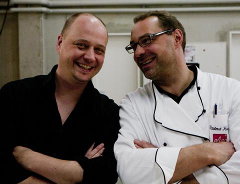 Dream-Team Wolfgang und Hartmut ;-)