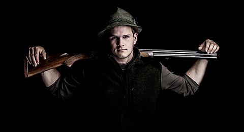Portrait von Max als Jaeger, geshootet by Riegg & Partner
