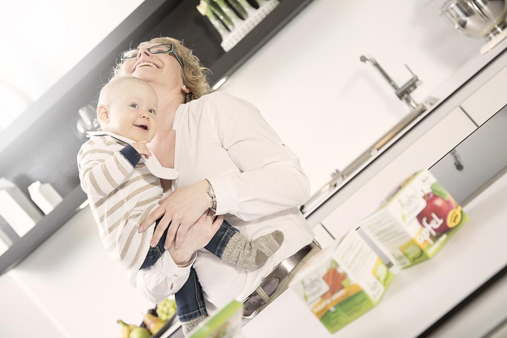 Babyviduals Babyfotografie Küche