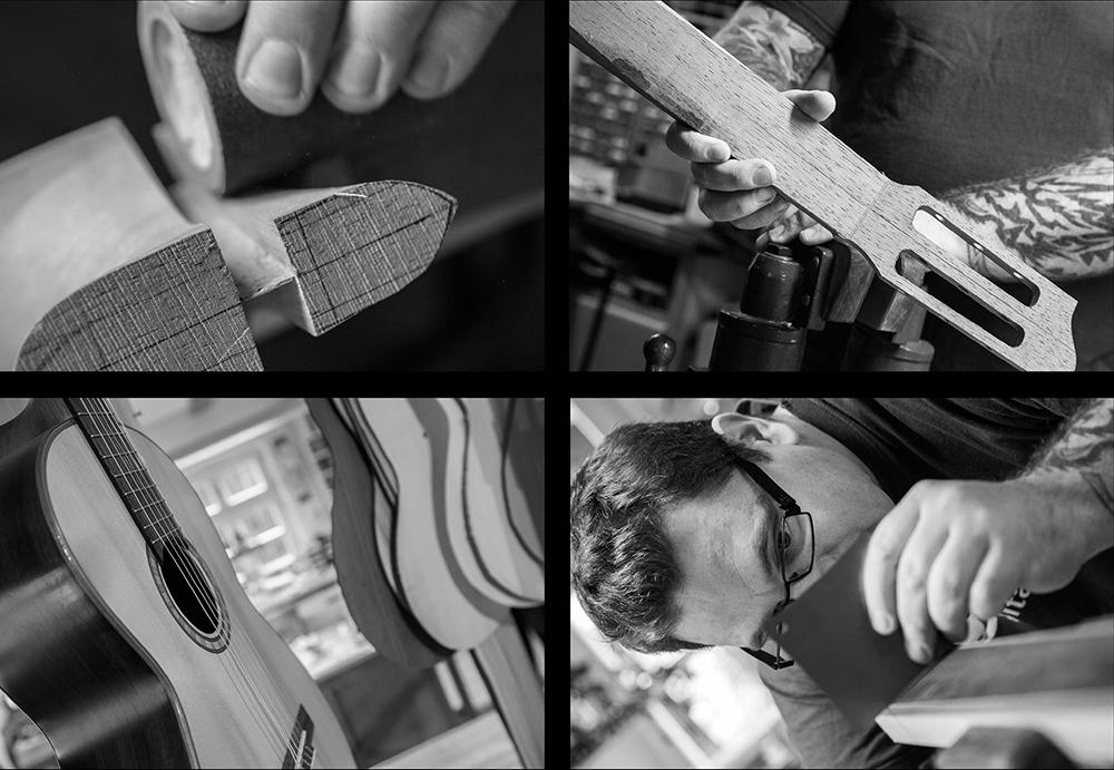 Riegg & Partner, Gitarrenbau Ochs Fotoreportage