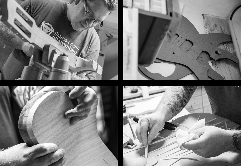 Riegg & Partner, Gitarrenbau Ochs Fotoreportage Reportagefotografie