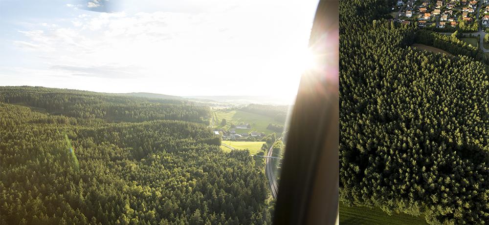 Riegg und Partner Luftaufnahmen Log In Spedition